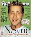 Lance on the cover of Rolling Stone magazine. (2001)