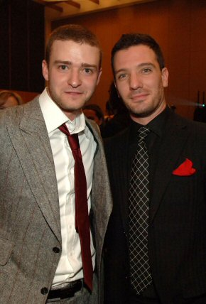 Jc Chasez And Justin Timberlake