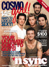 The guys on the cover of Cosmo Girl. (May 2001)