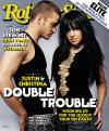 Justin & Christina Aguilera on the cover of RollingStone magazine. (June 2003)