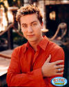 "Lance in promotional photos for ""No Strings Attached"" in 2000."