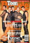 *NSYNC on the cover of Teen People magazine. (2000)