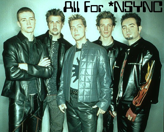 Welcome to All For *NSYNC!