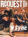 *NSYNC on the cover of Request magazine. (June 2000)